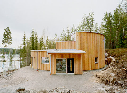 A Passivhaus in Sweden