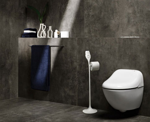 Renovate your toilet or cloakroom