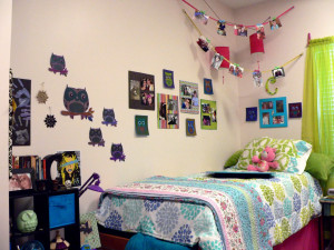 Decorating a student room