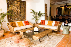 Ethnic look in your home