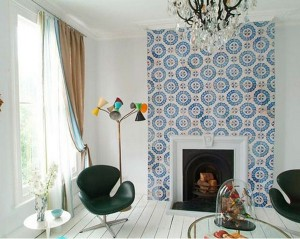 Patchwork tiles in your home