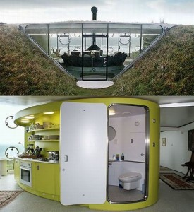 Advantages of an underground home