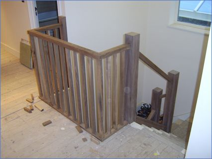 refurbished stair case