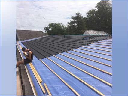 Low Pitch Degree Roofs