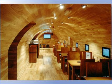 curved ceilings walls and floorscovent g