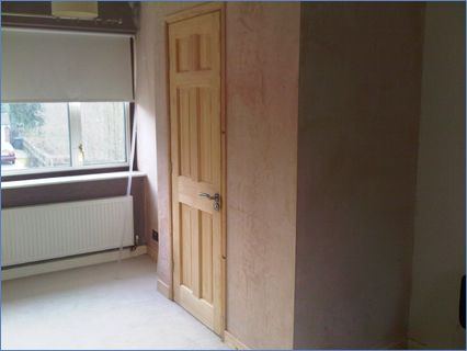 ensuite added to bedroom