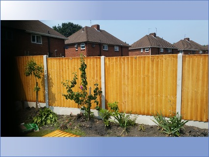 6x5 Feather Edge and Gravel Boards