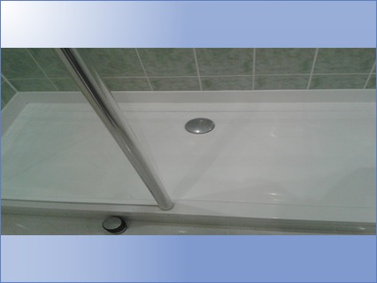 Fitted Shower Tray and Screen