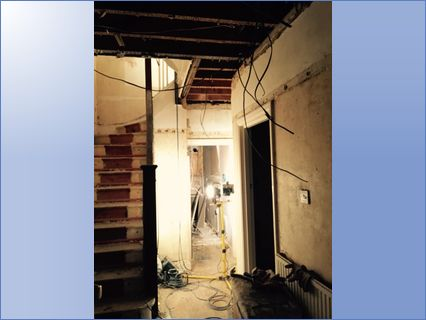 House Refurb Plasterboard and Skimming P