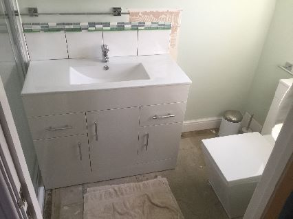 Bathroom alterations in Milton Keynes