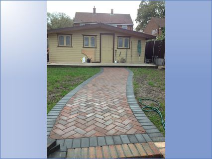 Foot paths & Out building