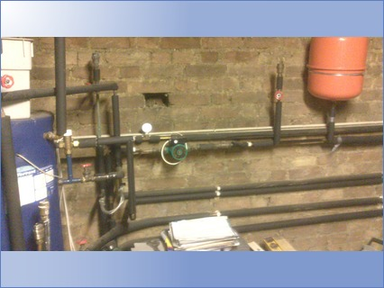 Expansion Vessel Pump and Regulator fitt