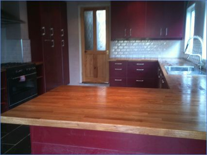 Lovely kitchen worktop