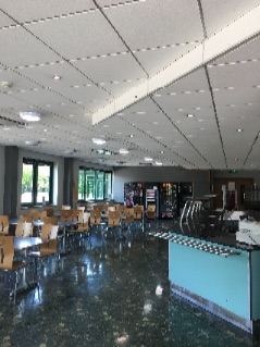A canteen and kitchen we did over in Ham