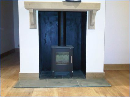 Woking,wood burning stove