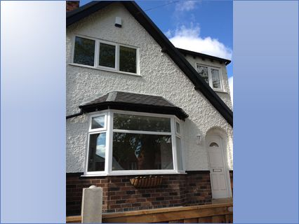 exterior fully painted render
