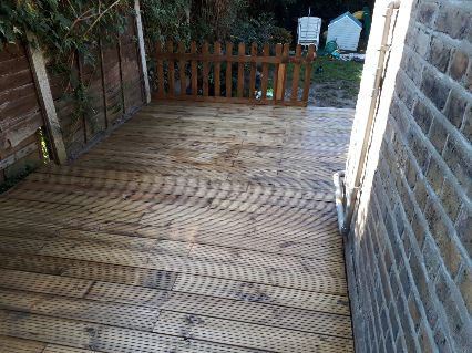 decking laid by us