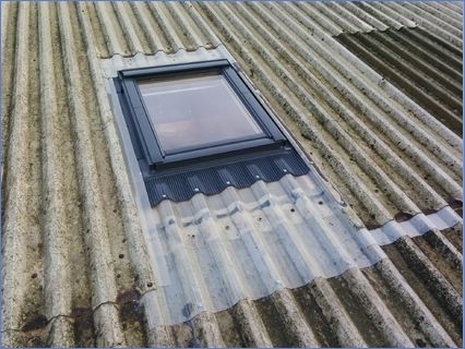 Velux Window Fitted into an old Sheeted