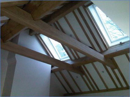 Woking,exposed oak timber roof
