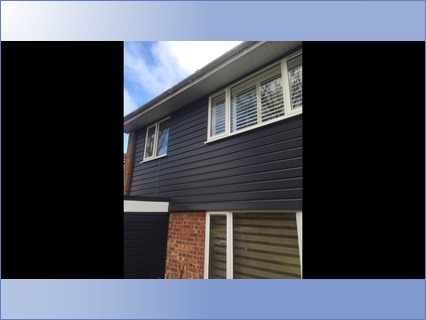 Anthracite Grey Ship-Lap Cladding
