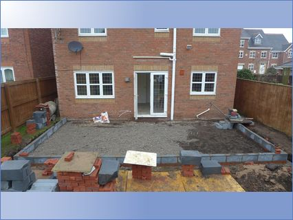 Large rear extension.