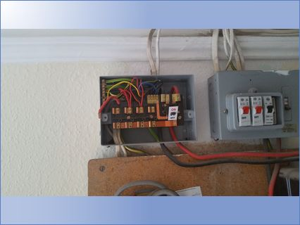 Old fuse board enfield