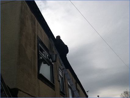 Gutter cleaning and repair in Manchester