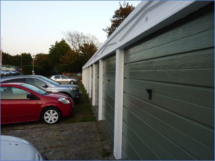 Garages painted by Phd Homes