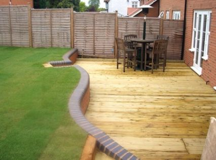 Garden done by us at always home improve