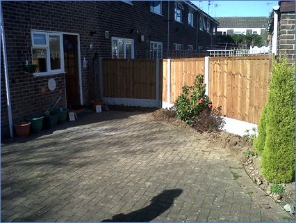 Concrete posts, Gravel Boards & Timber P