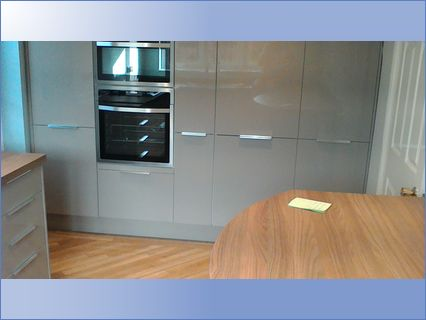 bank of pull out larder units Inc,oven h
