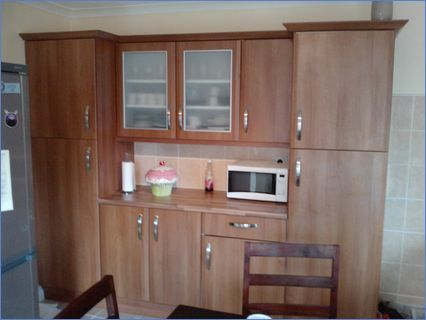 Wall Nut Kicthen Cabinet Dining Area