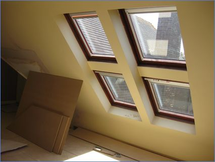 Velux before - renovation project - Lymi