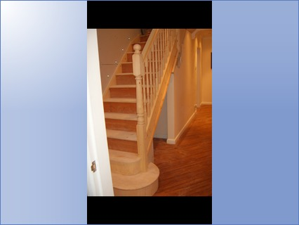 Stairs and spindles