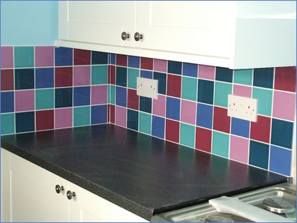 Kitchen wall tiling by AB Ceramics