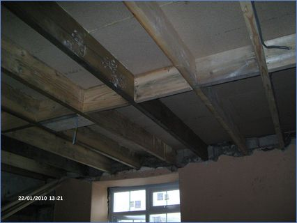 REPLACING FLOOR JOIST TO OLD COTTAGE