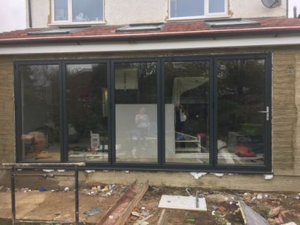 Extension and refurbishment of property