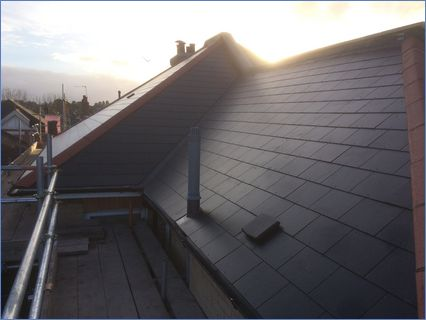 Brand New Roofs - Eternit Slate Roof Sys