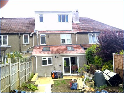 rear extension and loft conversion