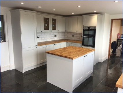 Fitted kitchens start to finish