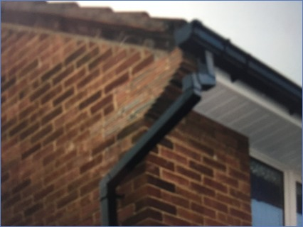 Fascias soffits and guttering.