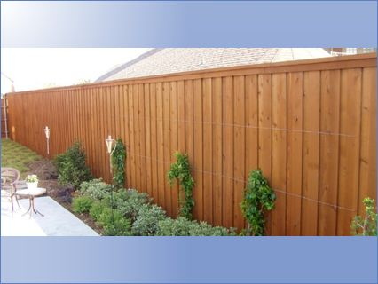 closed panel fencing