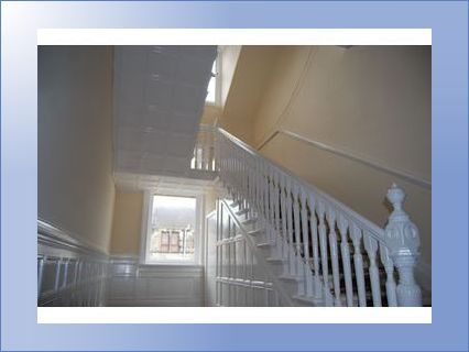 Staircase after decorating