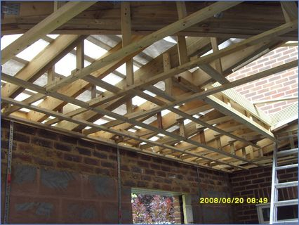 suspended ceilings timber frame