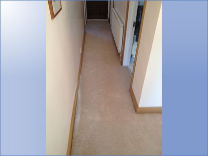 then carpet fitted