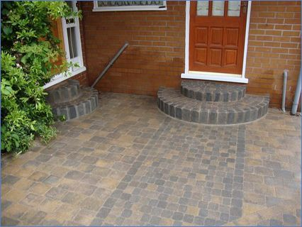 Block Paving to include Steps