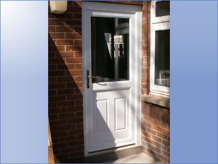 UPVC Back Door Installation