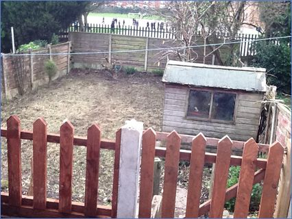 Big Garden Clearance and fence erected i