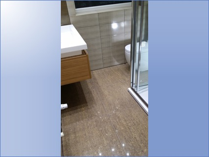fitted wall & floor tiles