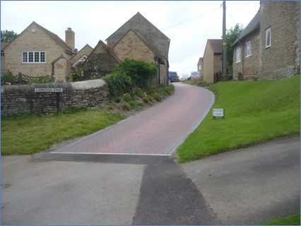 Recent Block paved Drive at Titchmarsh
